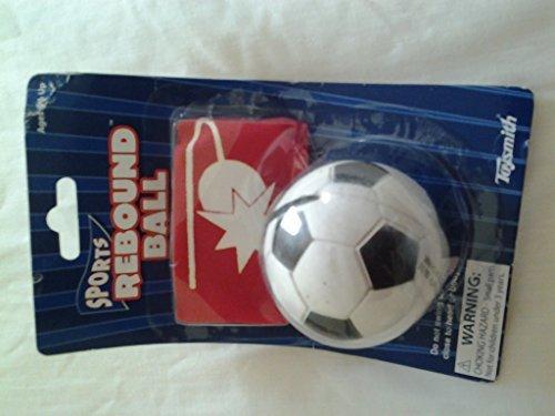 Toysmith Sports Rebound Ball - Assorted (baseball, Soccer Ball ,basketball )