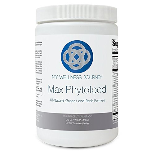 Greens & Reds Superfoods Mix- Max Phytofood with Probiotics, Phytonutrients, Digestive Enzymes & Fiber- All-Natural Antioxidant Support- Lactose-Free/Vegan- 30 servings 8.46 oz (240 g)