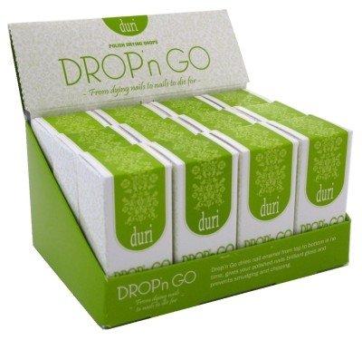 Duri Drop-N-Go Polish Drying Drops 0.6oz (12 Pieces) Display by Duri Cosmetics by duri