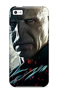 Durable Defender Case For Iphone 5c Tpu Cover(lord Voldemort In Deathly Hallows Part 2)