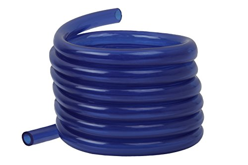 Raider Polyurethane Fuel Gas Line Tubing Hose Roll Blue (5 Ft. x 1/4 ()