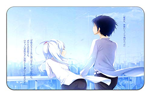 Denpa Onna To Seishun Otoko Anime Stylish Playmat [MP] Mousepad (24 x 14) Inches [MP] Playmat Denpa Onna-2 8e0ed2