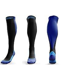 Women's Graduated Compression Socks for Shin Splints Travel Sports Medical