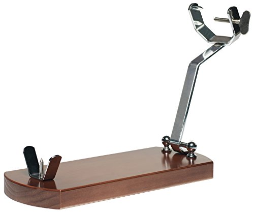 Folding Ham Stand Jamonprive with Non-slip Pads - The Original Ham Holder for Spanish Hams and Italian Prosciutto by Jamonprive