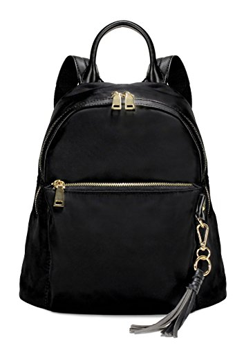 Scarleton Fashionable Nylon Backpack H201501 - Black ()