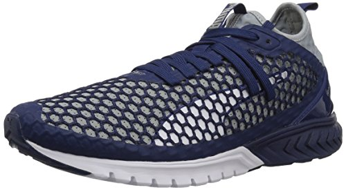 PUMA Men Ignite Dual Netfit Blue Depths-quarry