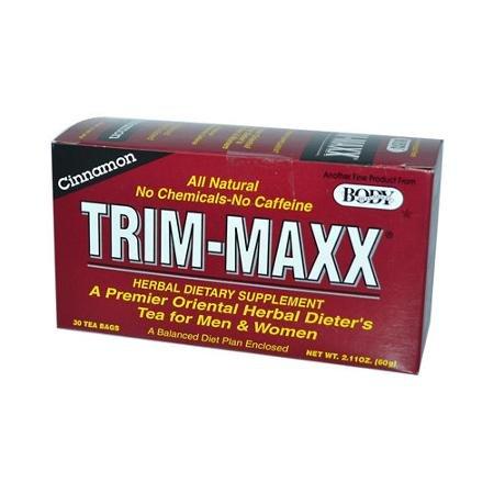 Maxx Trim (Body Breakthrough Diet Trim-Maxx Cinnamon Tea Bags, 30)