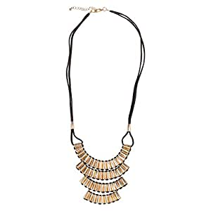 Just Showoff Women's Alloy 3 Line Necklace