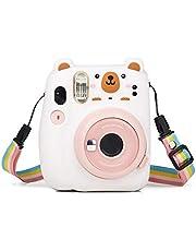 Homeriy Draagtas Zachte Siliconen Beschermhoes Voor Fujifilm Instax Mini 11 Fotoaccessoires Pocket