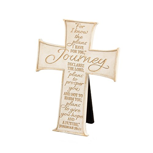 Lighthouse Christian Products Journey Wall/Desktop Cross, 3 3/4 x 5