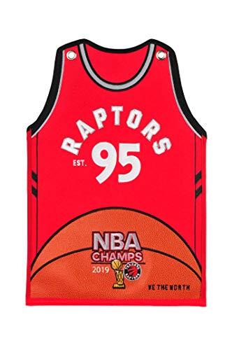 Winning Streak NBA Toronto Raptors Unisex 2019 NBA Champs Toronto Raptors Jersey Traditions Banner2019 NBA Champs Toronto Raptors Jersey Traditions Banner, red, Banner ()