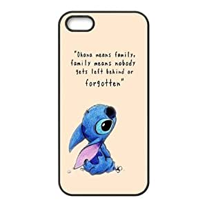 Custom High Quality WUCHAOGUI Phone case Lilo & Stitch - Ohana Means Family Protective Case For Apple Iphone 6 plus 5.5 Cases - Case-9