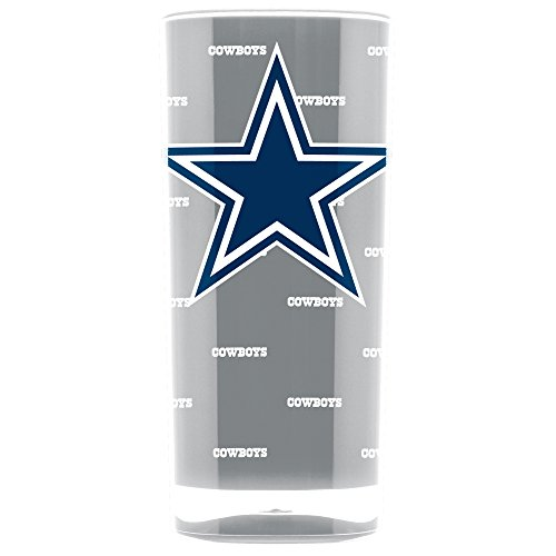 NFL Dallas Cowboys 16oz Insulated Acrylic Square Tumbler ()