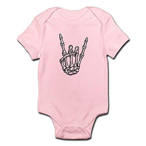 CafePress Bony Rock Hand Cute Infant Bodysuit Baby Romper
