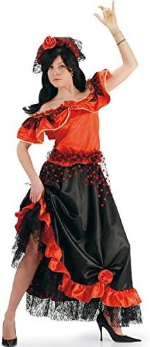 Carnival Toys Traje de Dolores Flamenco bailarín Español España: Amazon.es: Deportes y aire libre