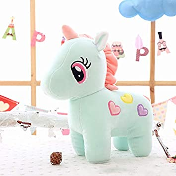 Puppy Makes Mischief Stuffed Animal, Buy Tickles Blue Super Soft Plush Unicorn Toy Soft Stuffed For Kids Infants 35 Cm Online At Low Prices In India Amazon In