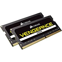 CORSAIR Vengeance Performance 32GB (2x16GB) 260-Pin DDR4 SO-DIMM DDR4 2666 (PC4 21300) Laptop Memory Model CMSX32GX4M2A2666C18