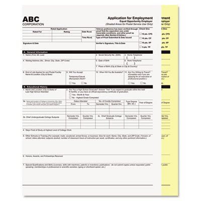 PMC59101 - Pm Company Digital Carbonless Paper