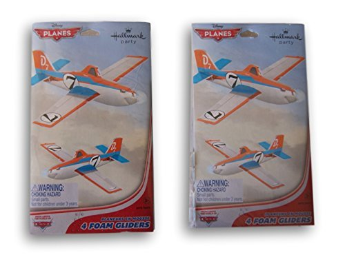 Disney Planes Foam Glider Party Favors - 8 Count -