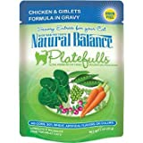 Natural Balance Platefulls Chicken & Giblets Adult Cat Food