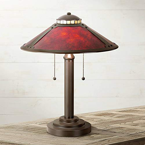 (Mica Collection Mission Desk Table Lamp 18 1/2