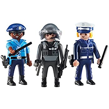 Playmobil police station with alarm system toys games - Playmobil camion police ...