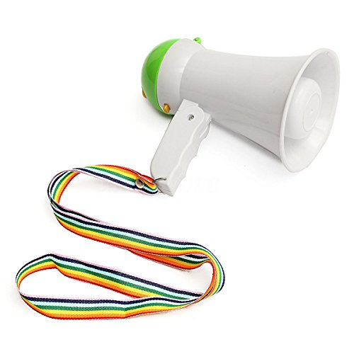 Portable Mini Handheld Megaphone Bullhorn Amplifier Bullhorn Voice Loud Speaker