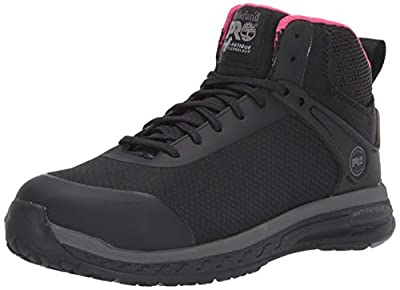 Timberland PRO Women's Drivetrain Mid Composite Toe Sd35 Industrial Boot