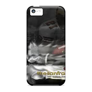 Fashionable Style Case Cover Skin For Iphone 5c- San Francisco 49ers Collection Frank Gore