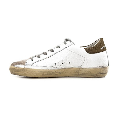 The Golden Goose Deluxe Merkevare Super Hvit Metallic Joggesko G32ws590.e52