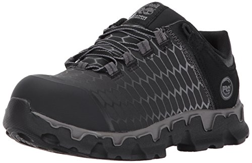 Timberland PRO Women's Powertrain Sport Alloy Safety Toe Shoe,Black Raptek,10 M US