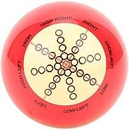 Portable Billiard Cue Ball Practice Training Assist Accessory for America Pool Eight Ball, Pool Cue Ball Billi