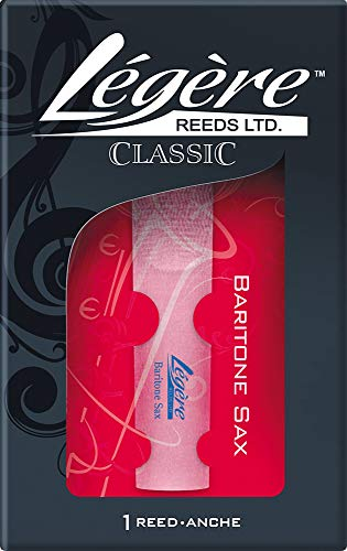Legere Baritone Saxophone Reeds Strength 2.75 from Legere