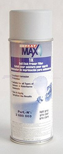 Spray 3680003 MAX 1k Self Etch Primer Filler (Gray)