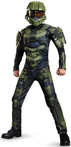 Master Chief Muscle Costume - X-Large (Halo Master Chief Kids Costume)