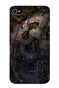 High-quality Durable Protection Case For Iphone 4/4s(artwork Guild Wars 2) For New Year's Day's Gift