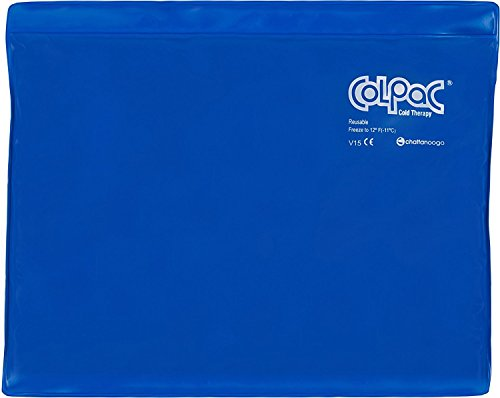 (Chattanooga ColPac Reusable Gel Ice Pack Cold Therapy for Knee, Arm, Elbow, Shoulder, Back for Aches, Swelling, Bruises, Sprains, Inflammation (11