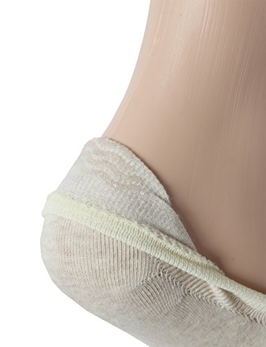 OSABASA Womens Casual No-Show 3Pairs Socks of Various Pastel Colors BEIGE M (SET3KWMS058) by OSABASA (Image #5)