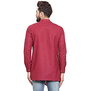 ABH LIFESTYLE Men's Cotton Short Kurta