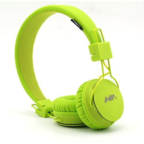 GranVela High Performance Wired Headphones for iPad,iPhone,Samsung, Android Phones and Tablets(Lemon Yellow)
