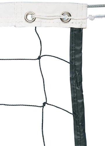 Champion Sports Braided Volleyball Nets, White, 32 x 3-Feet