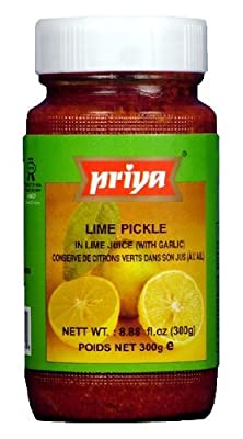 Priya Lime Pickle 10.6 Oz