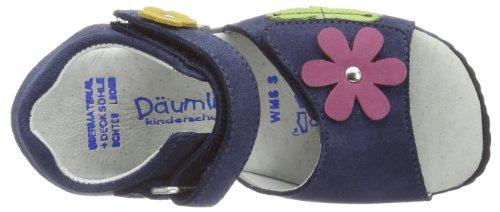 Däumling Funny - Franzi Mädchen Knöchelriemchen Sandalen Blau (Turino jeans42)