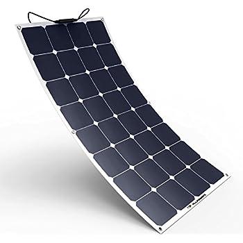 unisolar 128 watt flexible solar panel pv laminate 24 volt with quick connect. Black Bedroom Furniture Sets. Home Design Ideas