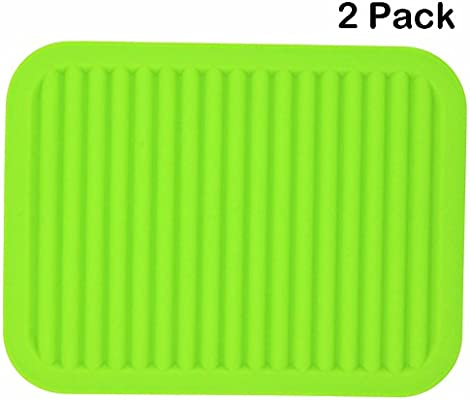 Bathroom Storage & Organization Reliable Hot Sale Large Silicone Table Placemat Premium Heat Resistant Drying Mat Tableware Dishwasher Dish Cup Cushion Pad Dinnerware