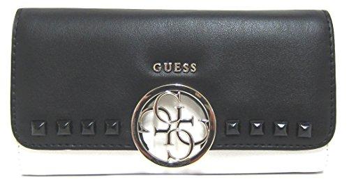 (GUESS Women's Devyn SLG Slim Clutch Black Multi One Size)