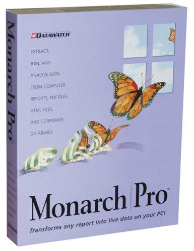 Single User Cd - Monarch Pro V8.0 Single User CD