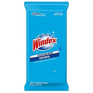 Windex Glass and Multi-Surface Cleaning Wipes, 28 Count - Pack of 3 (84 Total Wipes)