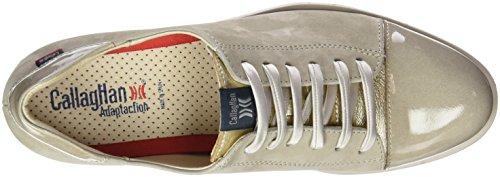 Callaghan 89815, Zapatos de Cordones Derby para Mujer Gris (Perla)