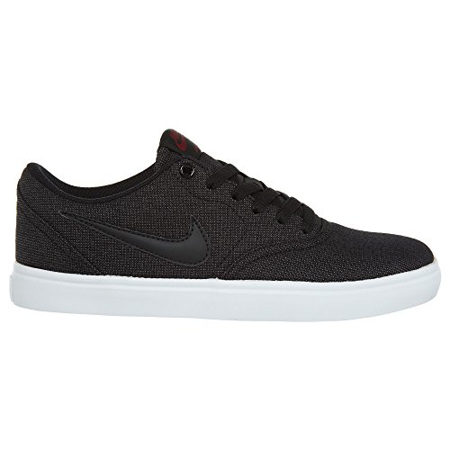 SB CNVS Solar Red Shoe Black NIKE Men's Team Skate Check Black qPFI5xUAwn